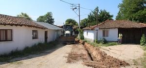 iga'nın  Çavuşköy Mahallesi de doğalgaza kavuştu