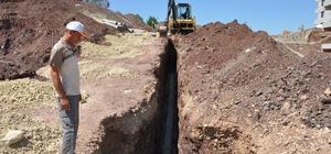 Gölbaşı ilçesinde kanalizasyon çalışması yapıldı