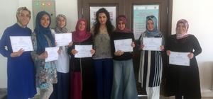 Pursaklarlı kadınlar bilgisayar sertifikalarını aldı