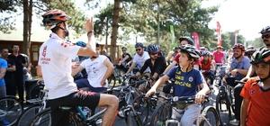 Başakşehir Şamlar Tabiat Parkı bisiklet tutkunlarına açıldı