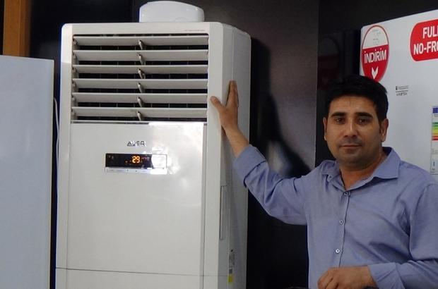Kahramanmaraş'ta havaların ısınması klima ve vantilatör satışlarını arttırdı