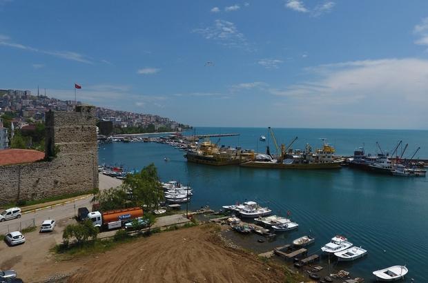 Sinop Çekek Yeri yenileniyor