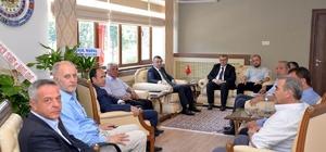 AK Parti heyetinden Vali Büyükakın'a ziyaret