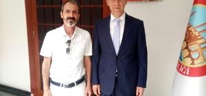 Ekrem Arpak'tan Şanlıurfa Valisi Abdullah Erin'e hoşgeldin ziyareti
