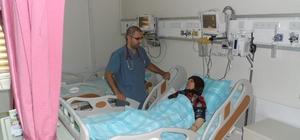 Ceylanpınar Devlet Hastanesi yoğun bakım servisi açıldı