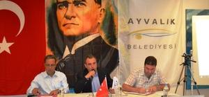Ayvalık Belediyesi'nin Temmuz Ayı Olağan Meclis Toplantısı yapıldı