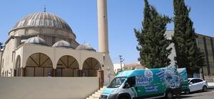 Haliliye'de ibadethaneler temizlendi