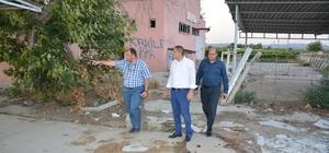Aslay Saruhanlı'daki yatırımları yerinde inceledi