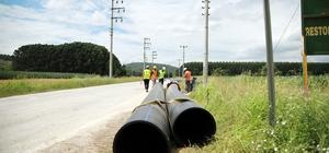 45 milyonluk altyapı projesinde çalışmalar devam ediyor