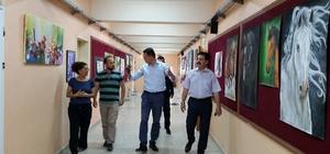 Ürkmezer okulları ziyaret etti