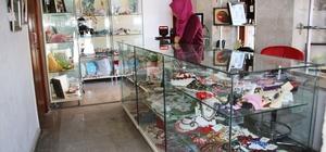Karamanlı kadınlar el emeklerini açılan ofiste satacak