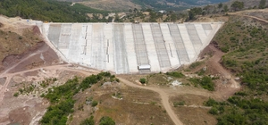 Kumluca Adrasan Barajı'nda sona yaklaşılıyor