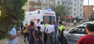Iğdır'da maddi hasarlı trafik kazası