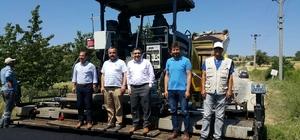 Pazarlar'da sıcak asfalt çalışmaları devam ediyor