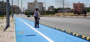 Adıyaman'a 5 Bin 500 metre bisiklet yolu