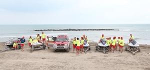 27 günde 282 boğulma vakası önlendi