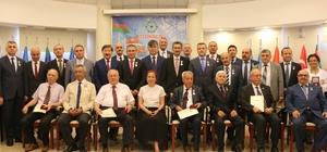 'Türk Cumhuriyetleri 25. Yıl Madalyası'' sahiplerini buldu