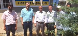 AK Parti Mezitli'den, Lice teşkilatına taziye ziyareti