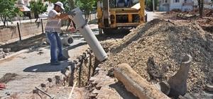 Gölbaşı ilçesinde kanalizasyon çalışmaları aralıksız sürüyor