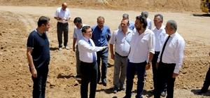 Rektör Kızılay, Peyzaj Mimarlığı bölümünün yeni binasını inceledi