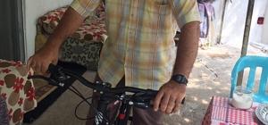Engelli vatandaşa bisiklet