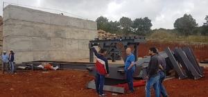 Dursunbey Belediyesi konkasör tesisi yenileniyor