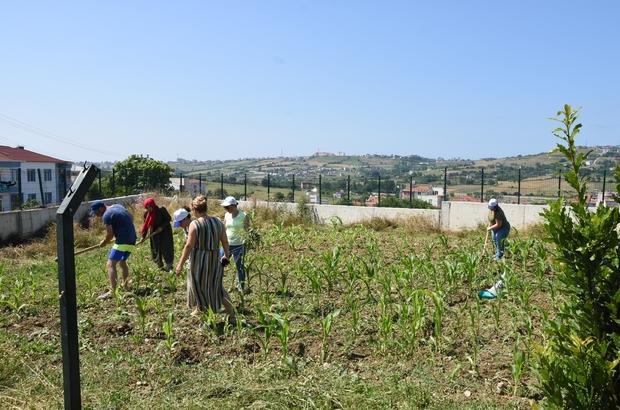 Engelli çocuklar için tarımsal çalışma başlatıldı