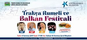 Balkan Festivali rüzgarı Küçükçekmece'de esecek