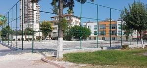 Akdeniz Belediyesi spor tesislerini yeniliyor