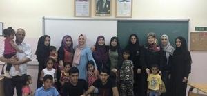 Akçakoca'da yaşayan Suriyeli sığınmacılar için Türkçe dil kursu açıldı