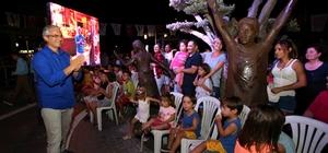 Karşıyaka'nın parklarında konser zamanı