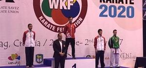 Dünya şampiyonluğuna uzanan Çorlulu karateci Olimpiyat vizesi aldı