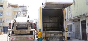 Akdeniz'de çöp konteynerleri yıkanıyor