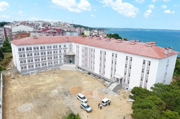 Sinop İmam Hatip Lisesi inşaatında sona gelindi