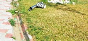 15 Temmuz Şehitler parkına çirkin saldırı