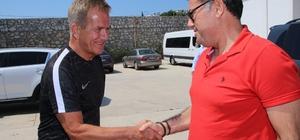 Başkan Kocadon, Bodrumspor'u ziyaret etti