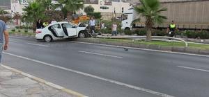 Bodrum'da trafik kazası; 5 yaralı