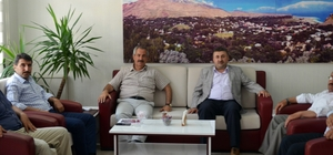 Diyanet-Sen Genel Başkan Yardımcısı Yakışır'dan Başkan Gürsoy'a ziyaret