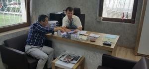 Balıkesir Milletvekili Ali Aydınlıoğlu Edremit'de ziyaretlerde bulundu