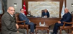 Vali Zorluoğlu'na ziyaretler devam ediyor