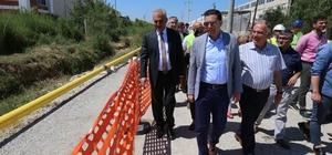 Başbakan talimatı verdi o ilçede doğal gaz çalışmaları başladı