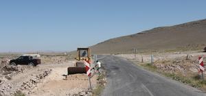 İncesu Belediyesi Üçkuyu Mahallesinde yol genişletme çalışmalarına başlandı