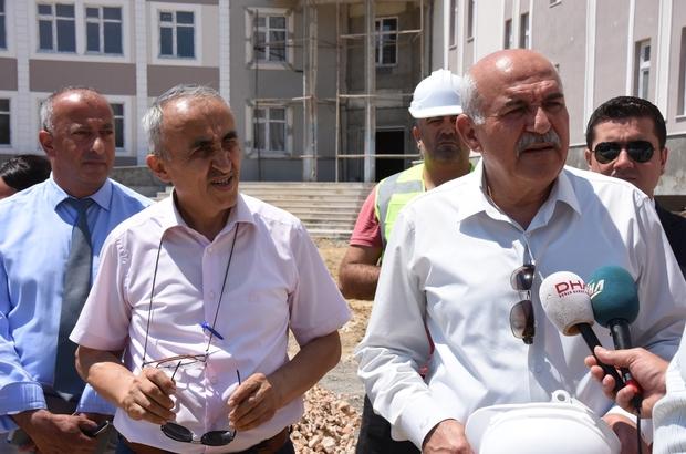 """Vali İpek: """"Sinop'ta 2017'nin Şubat ayında tekli öğretime geçtik"""""""