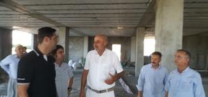 Başkan Gülenç, çalışmaları yerinde inceliyor