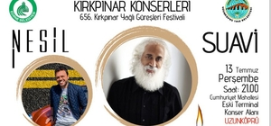 Kırkpınar konserleri Uzunköprü'de