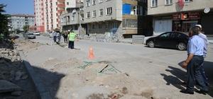 Hürriyet mahallesinde yol yapım ve düzenleme çalışmaları başladı