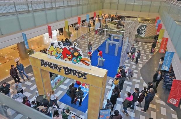 Kahramanmaraş'ta Angry Birds çılgınlığı başlıyor