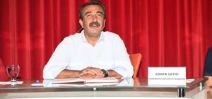 """Başkan Çetin: Daha mutlu bir Çukurova için çalışıyoruz"""""""