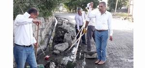 Malazgirt Konakkuran Belde Belediyesinden temizlik çalışmaları
