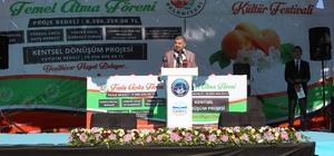 Başkan Çelik, Yeşilhisar'da toplu açılış ve temel atma törenine katıldı